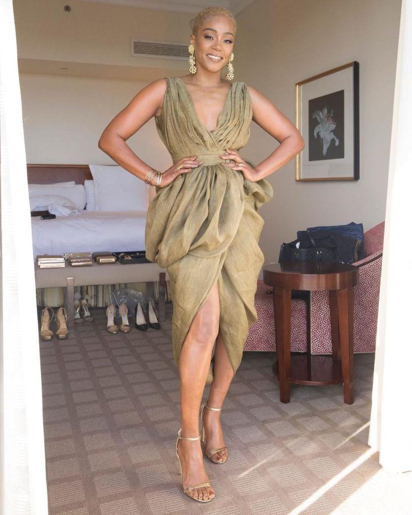 Tiffany Haddish Was Instaglam In Altuzarra