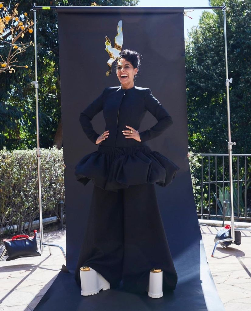 Tracee Ellis Ross Wore Schiaparelli To The 2021 NAACP Image Awards