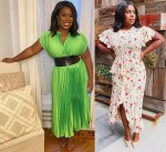 Uzo Aduba Promotes 'In Treatment' Wearing Escada & Michael Kors