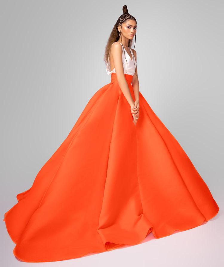 Zendaya Wore Valentino Haute Couture To The 2021 Critics' Choice Awards