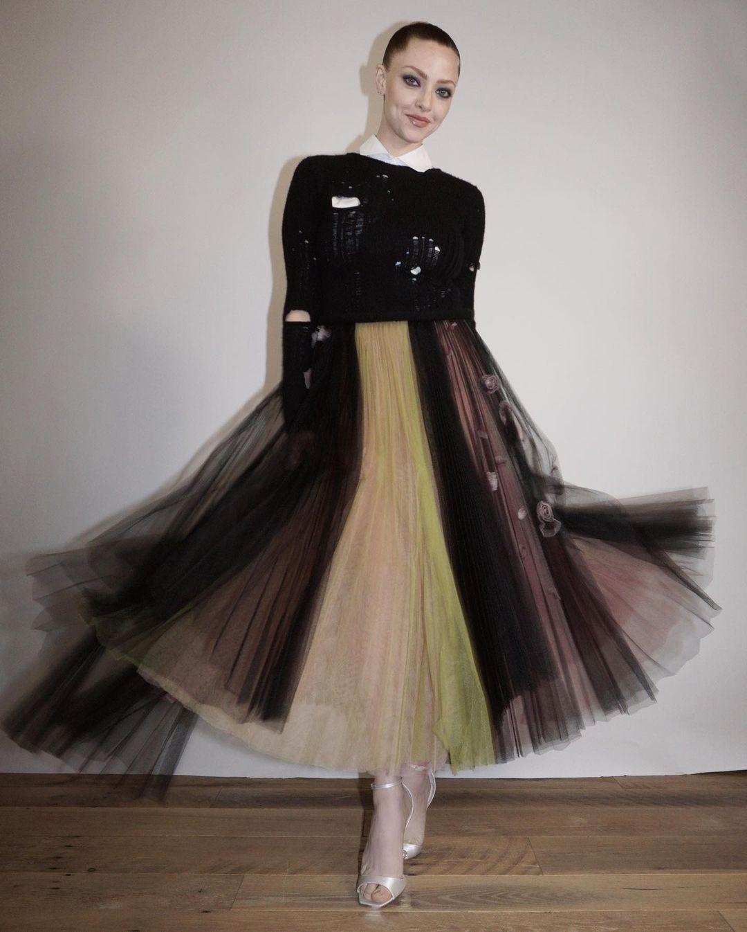 Amanda Seyfried Collects The Santa Barbara Film Festival Montecito Award In Dior