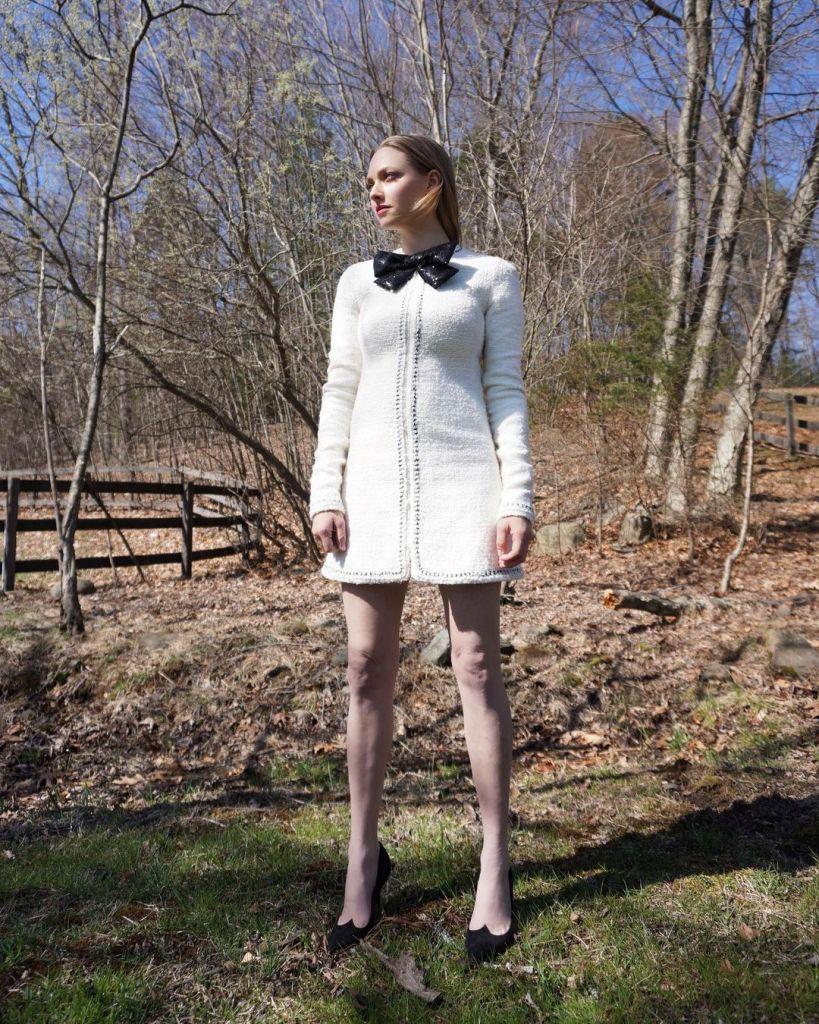 Amanda Seyfried Wore Giambattista Valli To The 2021 Costume Designers Guild Awards