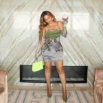 Beyonce Wore Auné Collective & Oséree In Miami