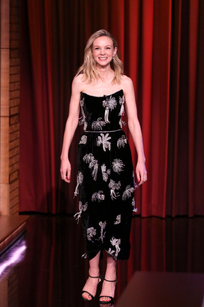 Carey Mulligan Wore Markarian On The Tonight Show Starring Jimmy Fallon