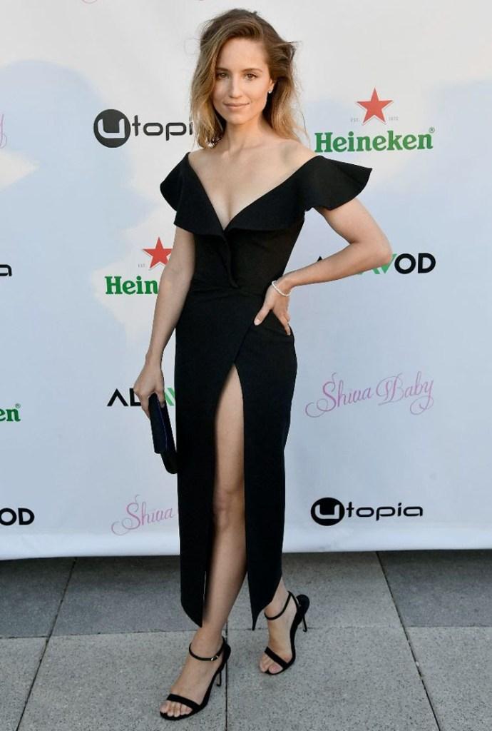 Dianna Agron Wore Oscar de la Renta For The 'Shiva Baby' LA Premiere