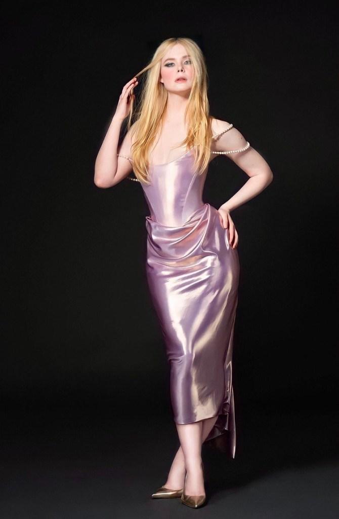 Elle Fanning Wore Vivienne Westwood To The 2021 Independent Spirit Awards