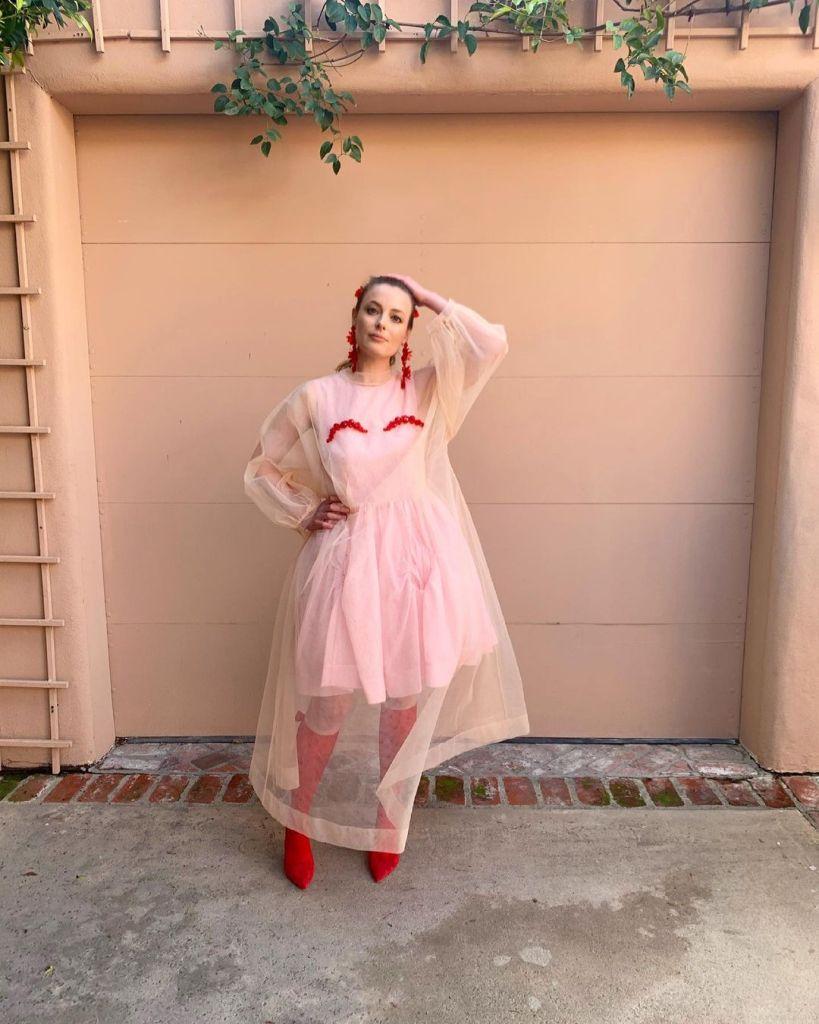 Gillian Jacobs Wore Simone Rocha x H&M Promoting 'Invincible'