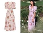 Kendall Jenner's Rodarte Daisy Printed Dress