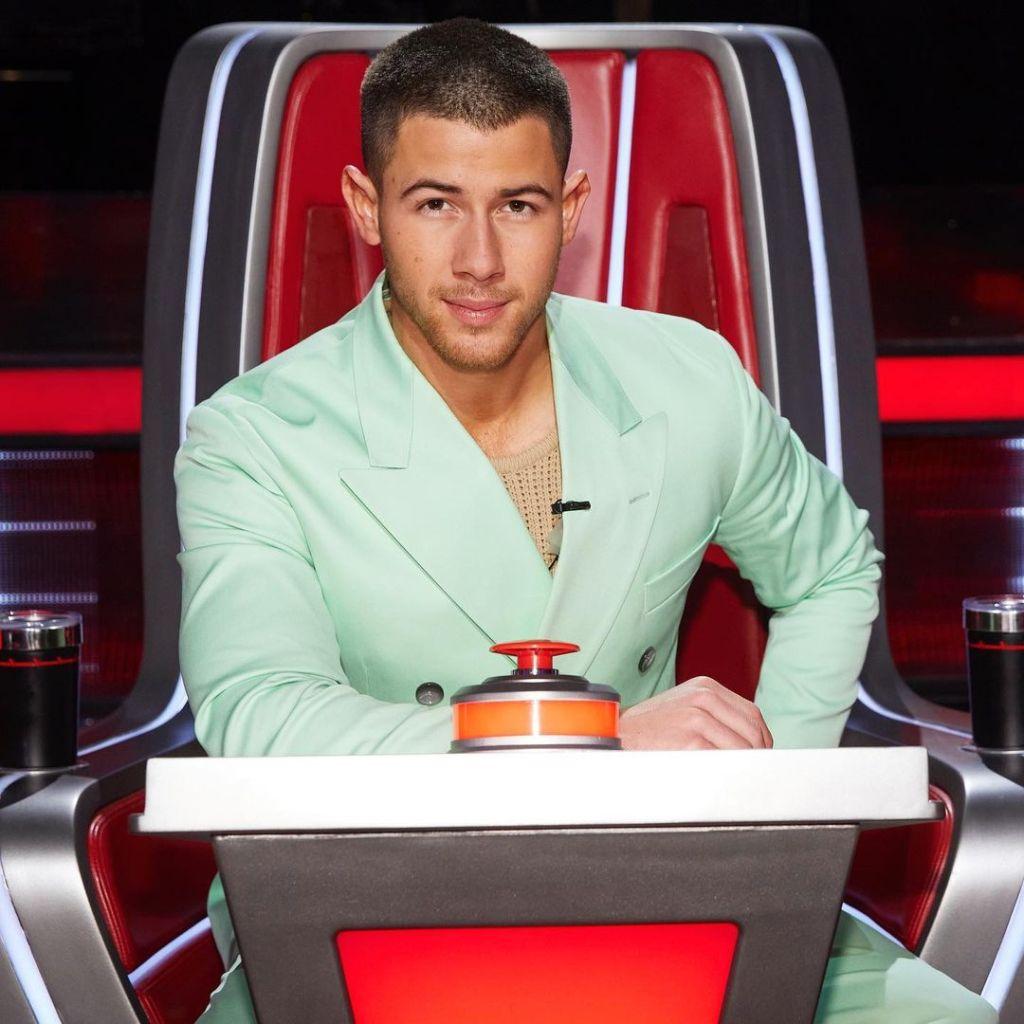Nick Jonas Wore BOSS On The Voice