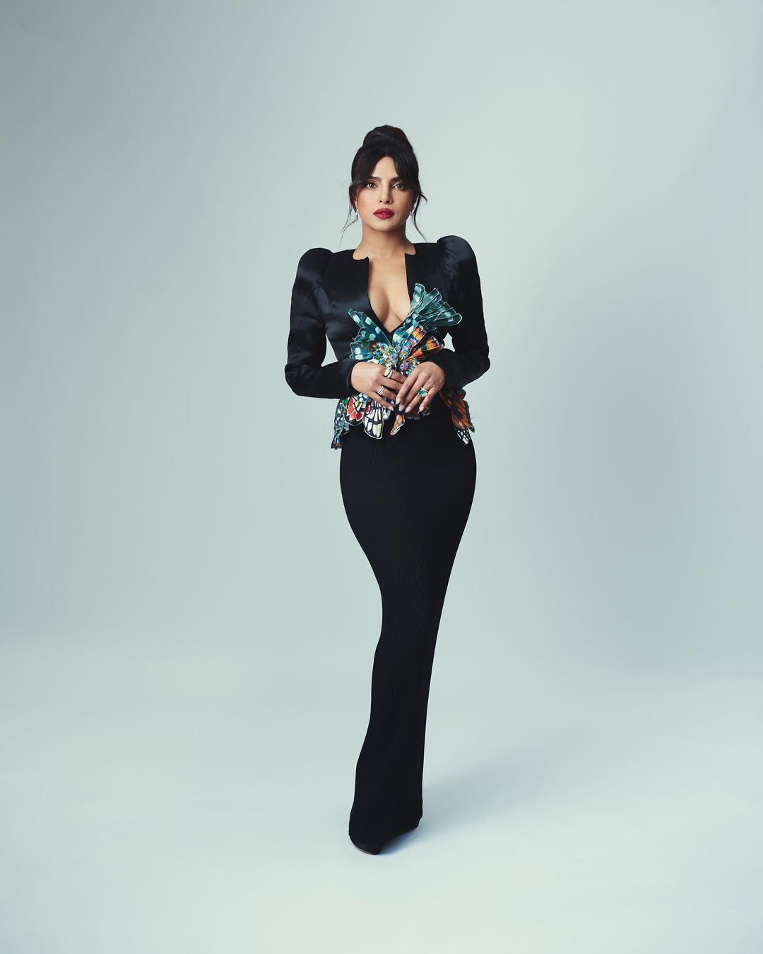 Priyanka Chopra Wore Ronald van der Kemp Haute Couture For The 2021 BAFTAs