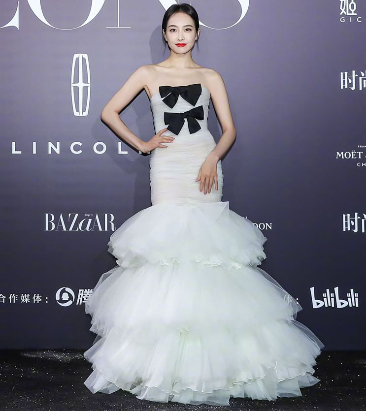 Victoria Song Wore Giambattista Valli Haute Couture To The 2021 Harper's Bazaar ICONS Party