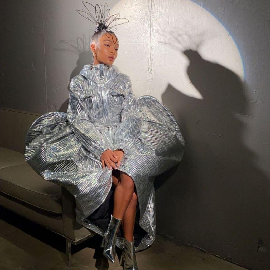 Yara Shahidi Was A Futuristic Fairy In Area