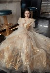 Zhao Liying 赵丽颖 Wore Guo Pei Haute Couture & Dior To The 2021 Harper's Bazaar ICONS Party