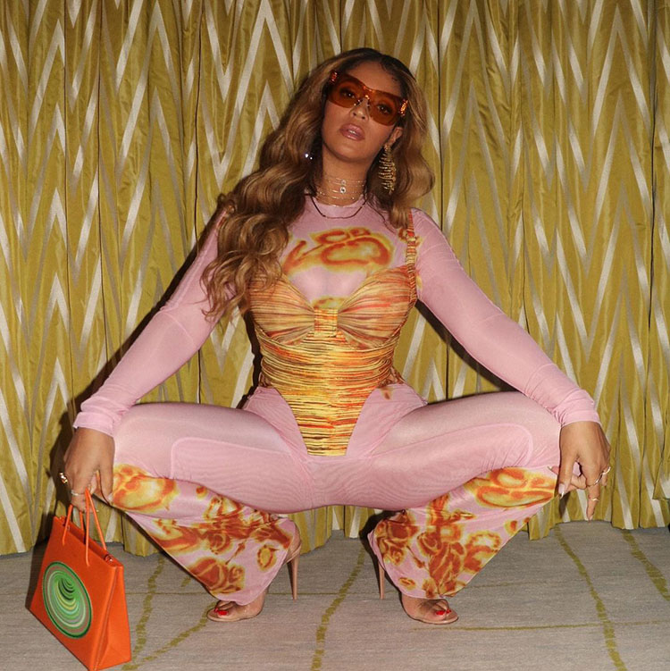 Beyonce Wore KNWLS For The 'Gram