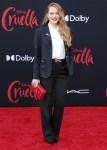 Emma Stone Wore Louis Vuitton To The 'Cruella' LA Premiere