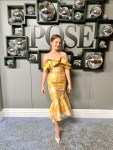 Jo Ellen Pellman Wore Markarian To The FX's 'Pose' Season 3 New York Premiere