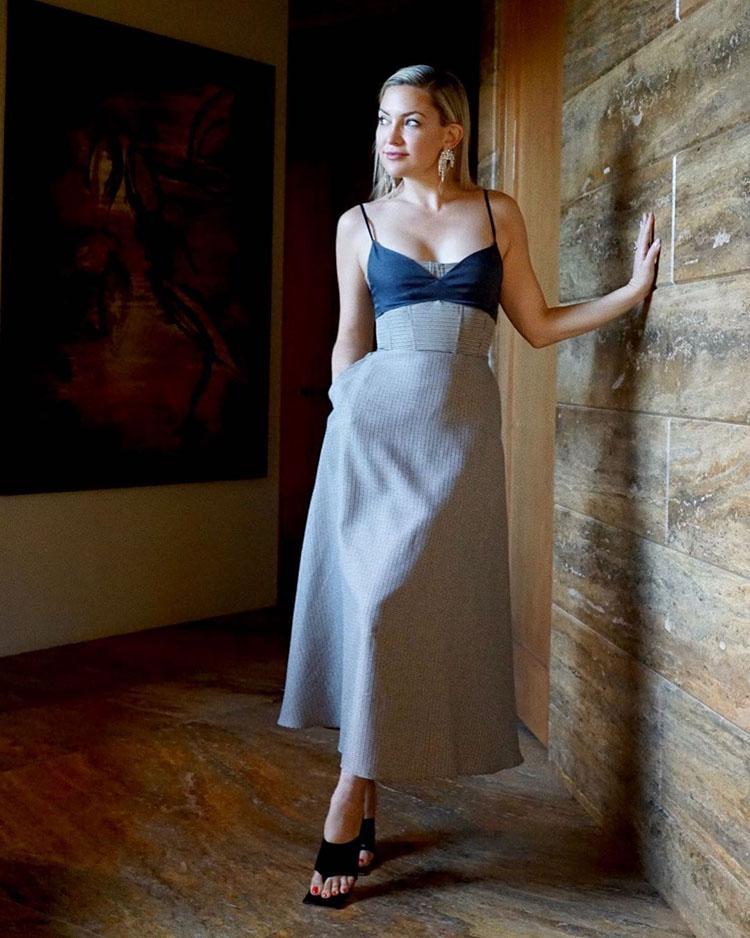 Kate Hudson Wore Rokh For The 'Gram