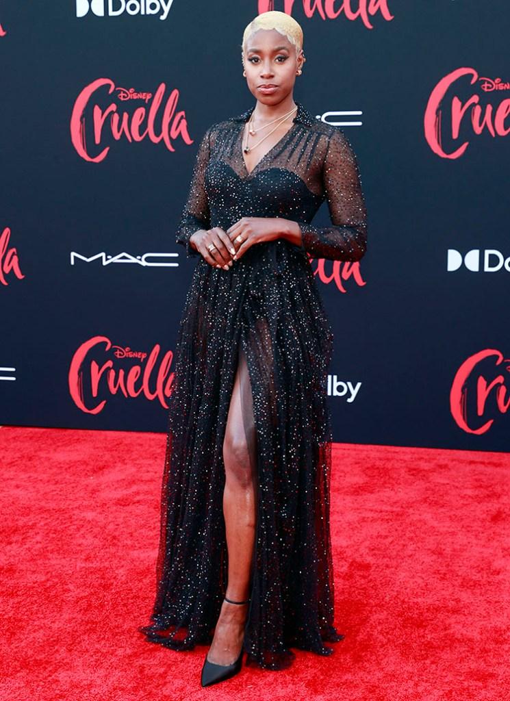 Kirby Howell-Baptiste Wore Christian Dior To The 'Cruella' LA Premiere