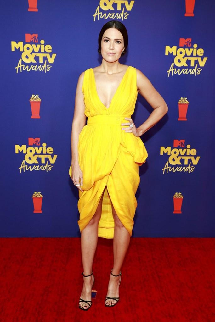 Mandy Moore Wore Altuzarra To The 2021 MTV Movie & TV Awards