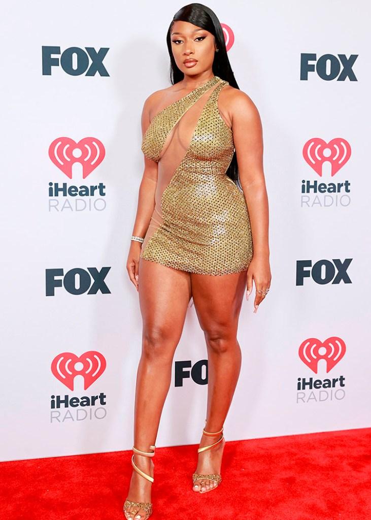 Megan Thee Stallion Wore 2021 iHeartRadio Music Awards