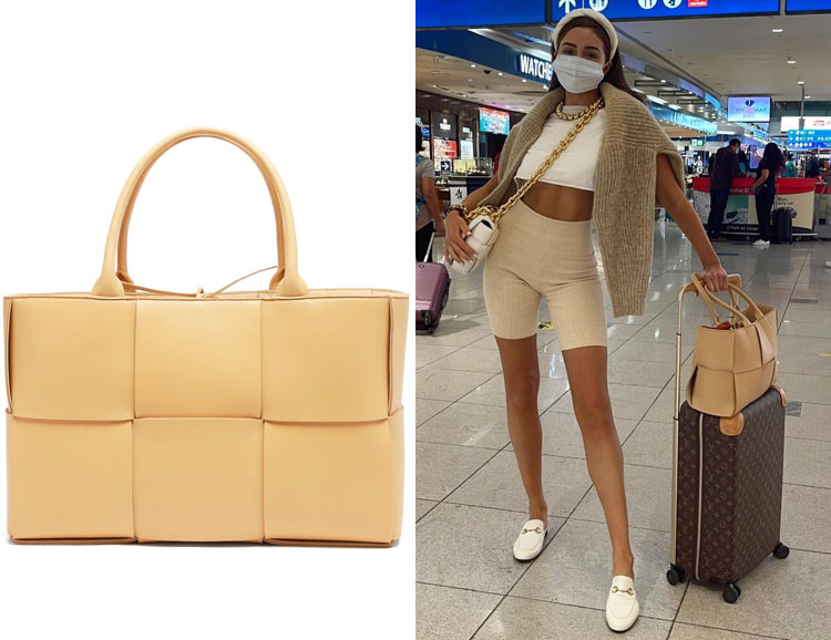Olivia Culpo's Bottega Veneta Arco Bag