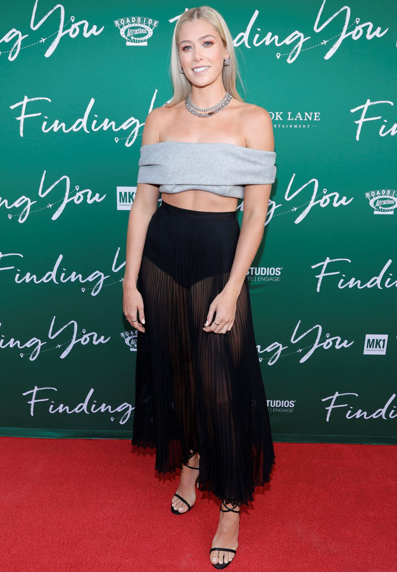Rose Reid Wore Brandon Maxwell For The 'Finding You' Nashville Premiere