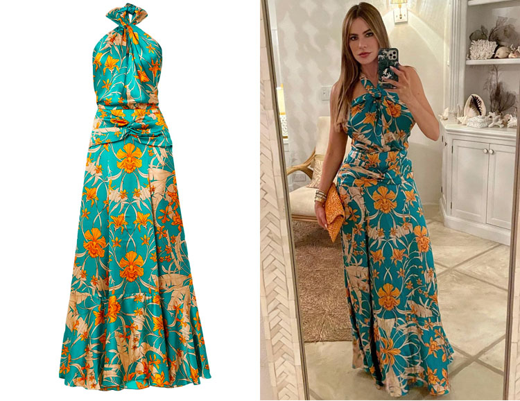 Sofia Vergara's Johanna Ortiz Floral Dress