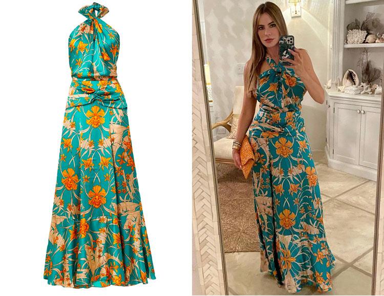 Sofia Vergara's Johanna Ortiz Floral Dress