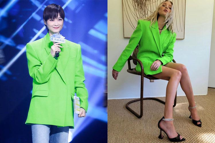 Celebrities Love...Neon Green Blazers