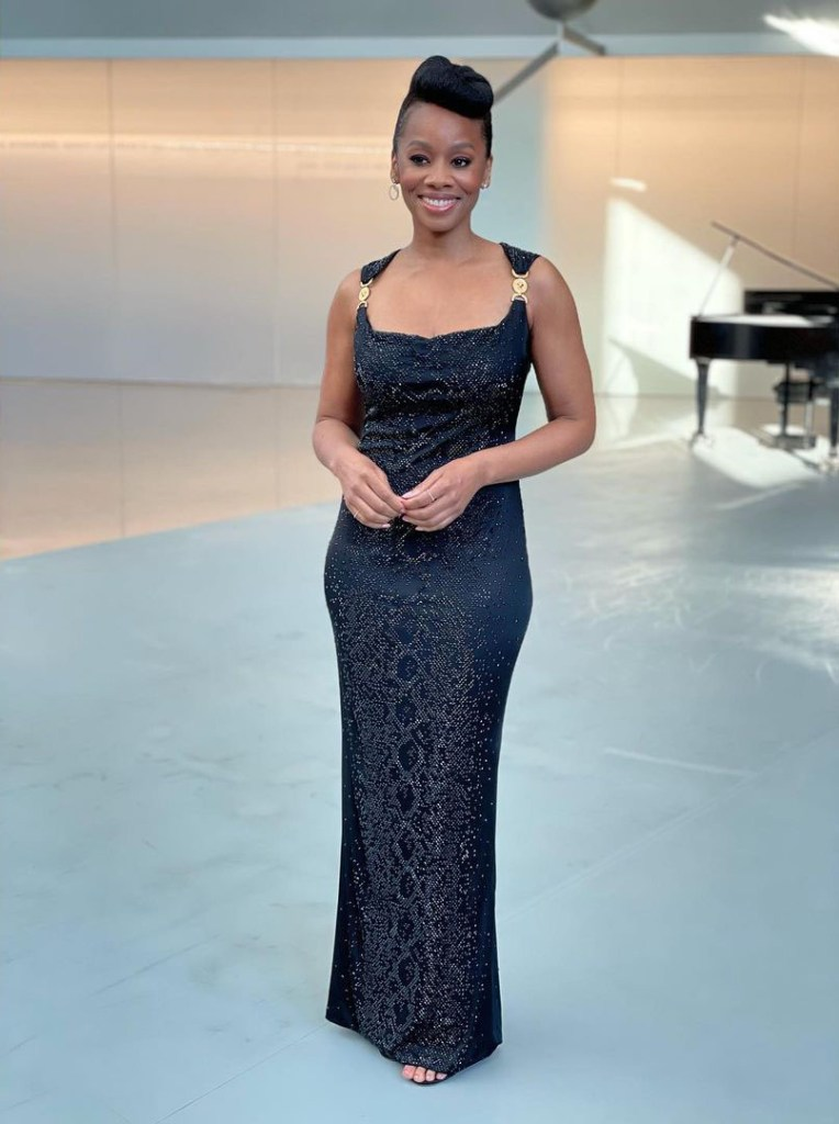 Anika Noni Rose Wore Versace To The Kennedy Center Honors