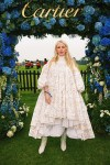 Ellie Goulding Wore Olivia Creighton To The Cartier Queen's Cup Polo 2021