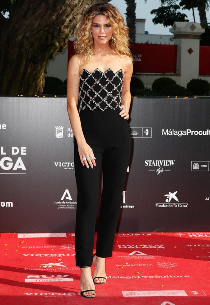 Juana Acosta Wore Oscar de la Renta 2021 Malaga Film Festival