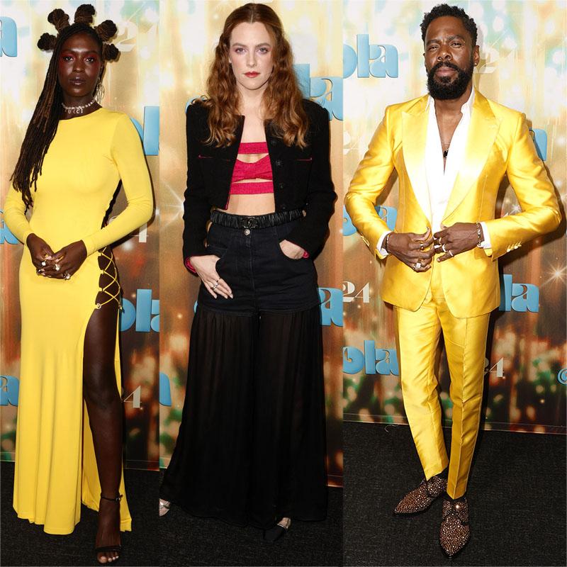 Jodie Turner-Smith, Riley Keough, Colman Domingo 'Zola' Los Angeles Special Screening