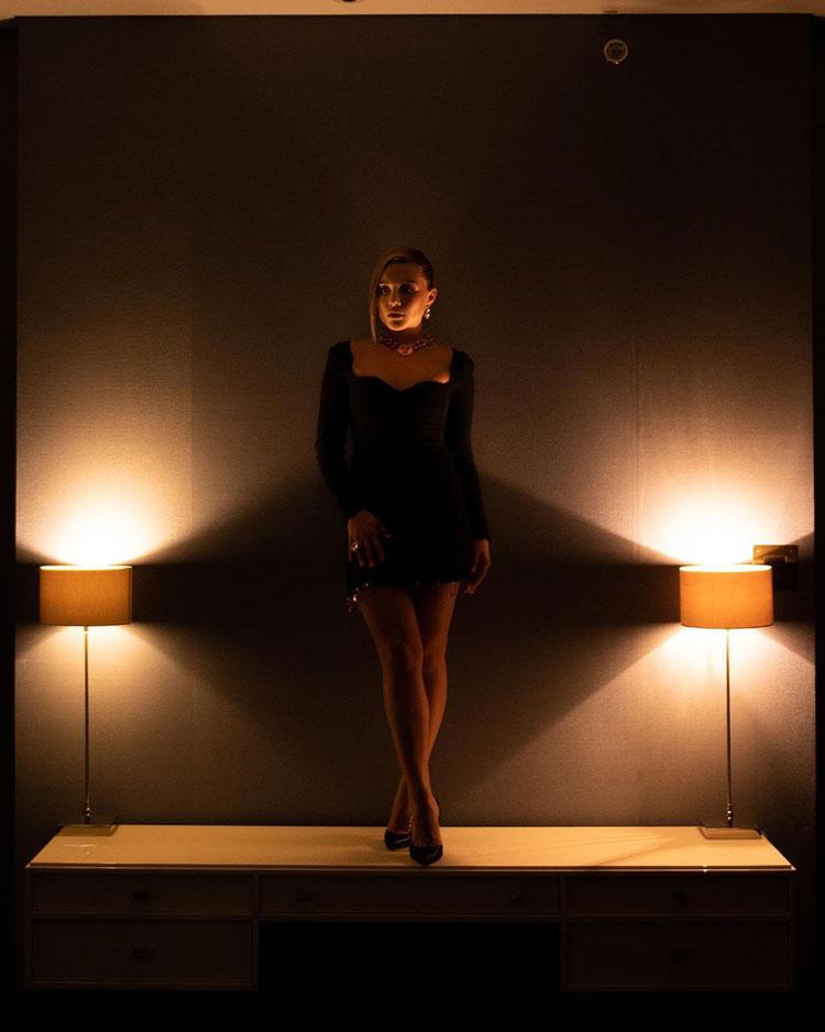 Florence Pugh Wore Louis Vuitton & Versace Promoting 'Black Widow'