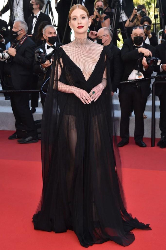 Marina Ruy Barbosa in Valentino - 'Tre Piani (Three Floors)' Cannes Film Festival Red Carpet