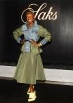 Cynthia Erivo Wore Alexander McQueen To The Saks Hampton Dinner