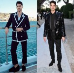 Darren Criss Wore Balmain To The Naked Heart France Riviera Dinner & amfAR Cannes Gala