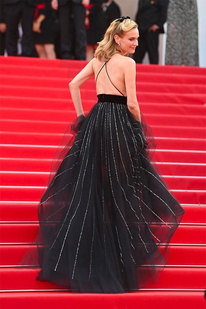 Diane Kruger Wore Armani Prive To The 'Tout S'est Bien Passe (Everything Went Fine)' Cannes Film Festival Premiere