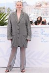 Luna Wedler Wore Acne Studios To 'A Felesegem Tortenete/The Story Of My Wife' Cannes Film Festival Photocall