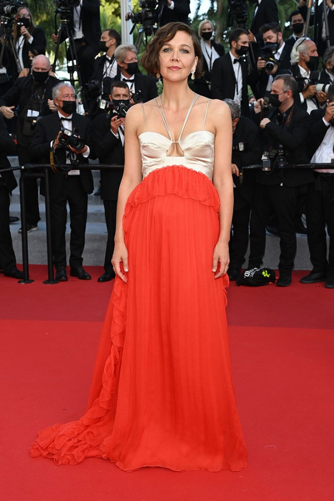 Maggie Gyllenhaal Wore Gucci To The 'OSS 117: From Africa With Love' Cannes Film Festival Premiere