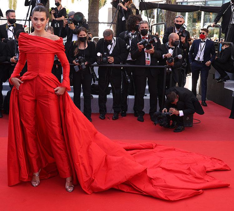 Marta Lozano in  Lorenzo Caprile Cannes Film Festival