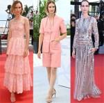 Naama Preis Wore Chanel Haute Couture & Valentino During Cannes Film Festival