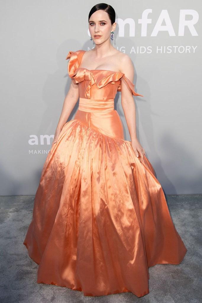 Rachel Brosnahan Wore Vivienne Westwood To The amfAR Cannes Gala