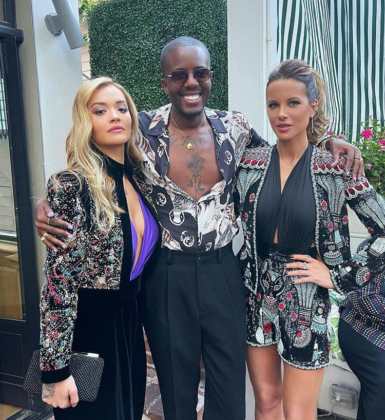 Rita Ora Wore Alexandre Vauthier Haute Couture To The 'Jolt' LA Screening