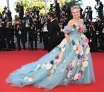 Sharon Stone Wore Dolce & Gabbana Alta Moda To 'A Felesegam Tortenete/The Story Of My Wife' Cannes Film Festival Premiere