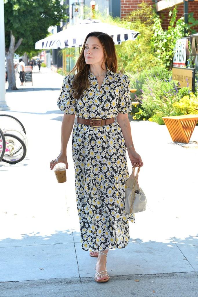 Sophia Bush Wore Kate Spade New York Out In LA