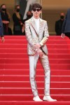 Timothée Chalamet Wore Tom Ford To 'The French Dispatch' Cannes Film Festival Premiere