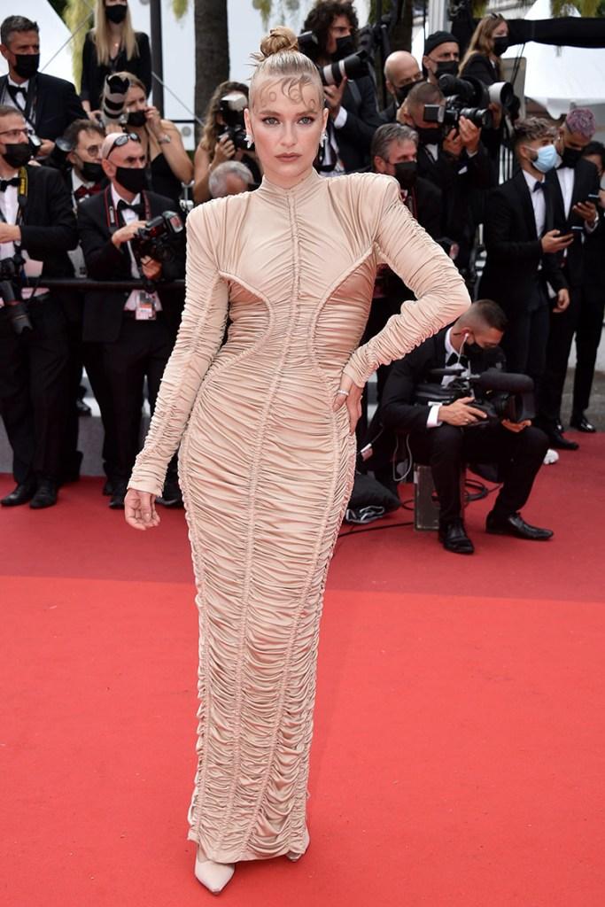 Camille Razat 'Les Intranquilles (The Restless)' Cannes Film Festival Premiere