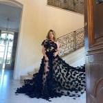 Alicia Silverstone Wore Christian Siriano In Provence