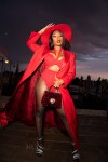 Megan Thee Stallion Front Row @ Dolce & Gabbana Alta Moda 2021 & Dinner Party